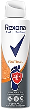 Парфюмерия и Козметика Спрей за крака - Rexona Football Spray