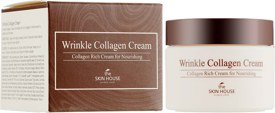 Подхранващ крем против бръчки с колаген - The Skin House Wrinkle Collagen Cream
