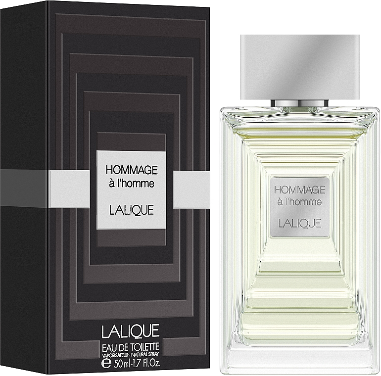 Lalique Hommage a L'Homme - Тоалетна вода — снимка N2