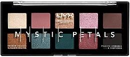 Парфюмерия и Козметика Палитра сенки и пигменти за очи и лице - NYX Professional Makeup Mystic Petals Shadow Palette