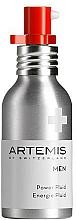 Парфюмерия и Козметика Флуид за лице за мъже - Artemis of Switzerland Men Power Fluid SPF 15