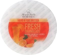 """Парфюмерия и Козметика Масло за ръце и крака """"Фреш портокал"""" - Stani Chef's Fresh Orangeade Hand Foot Butter"""