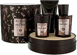 Парфюми, Парфюмерия, козметика Acqua di Parma Colonia Quercia - Комплект (одеколон/100ml + свещ/65g + душ гел/75ml)