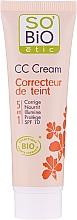 Парфюмерия и Козметика CC крем, 5 в 1 SPF 10 - So'Bio Etic CC Cream