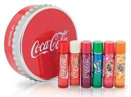 Парфюми, Парфюмерия, козметика Комплект балсами за устни - Lip Smacker Coca-Cola (balm/6x4g)