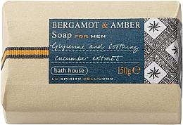 Парфюмерия и Козметика Bath House Bergamot & Amber - Сапун