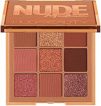 Парфюмерия и Козметика Палитра сенки за очи - Huda Beauty Nude Obsessions Palette