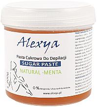 """Парфюми, Парфюмерия, козметика Депилираща захарна паста """"Мента"""" - Alexya Sugar Paste Natural Menta"""