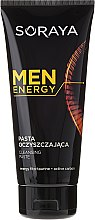 Парфюмерия и Козметика Почистваща паста за лице - Soraya Men Energy