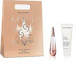 Парфюмерия и Козметика Issey Miyake L'Eau D'Issey Pure Nectar - Комплект (парф. вода/30ml + лосион за тяло/100ml)