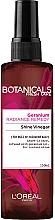 Спрей за коса - L'Oreal Paris Botanicals Fresh Care Geranium Shine Vinegar — снимка N1