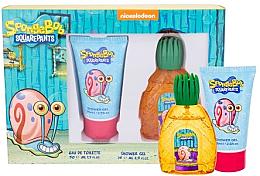Парфюми, Парфюмерия, козметика Spongebob Squarepants Gary - Комплект(edt/50ml + sh/gel/75ml)