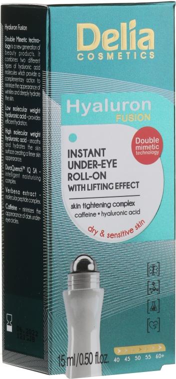 Лифтинг гел за кожата около очите - Delia Lifting Roll-On 3D Hyaluron Gel