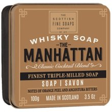 Парфюмерия и Козметика Сапун - Scottish Fine Soaps The Manhattan Soap In A Tin