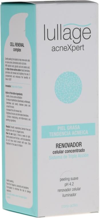 Обновяващ крем за лице - Lullage Acnexpert Renovador Celular Concentrato — снимка N2