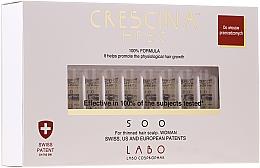 Парфюмерия и Козметика Лосион-концентрат на ампули за възстановяване на растежа на косата при жени 500 - Labo Crescina HFSC 500 Re-Growth Woman
