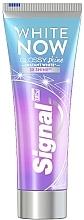 Парфюмерия и Козметика Избелваща паста за зъби - Signal White Now Glossy Shine Toothpaste