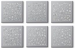 Парфюмерия и Козметика Комплект лепенки за нокти 42744 - Top Choice Nail Decorations Stickers Set