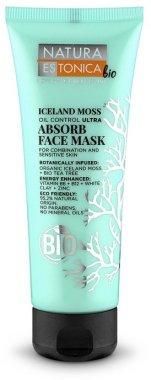 Почистваща маска за лице от Исландски лишей - Natura Estonica Iceland Moss Face Mask