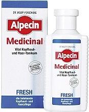 Парфюмерия и Козметика Тоник витализиране на скалпа - Alpecin Medical Fresh