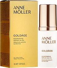 Парфюми, Парфюмерия, козметика Подхранващ серум за лице - Anne Moller Goldage Nourishment Serum-in-Oil