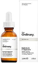 Парфюмерия и Козметика Серум с ретинол 1% в сквалан - The Ordinary Retinol 1% in Squalane