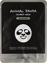 """Парфюмерия и Козметика Маска за лице от плат """"Панда"""" - Bioaqua Animal Panda Tender Mask"""