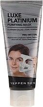 Парфюмерия и Козметика Изглаждаща пилинг маска за лице с колоидна платина - Yeppen Skin Purifying Mask Luxe Platinum Peel-off