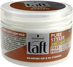 Парфюми, Парфюмерия, козметика Моделиращ гел за коса - Schwarzkopf Taft Pure Styler Light Hold