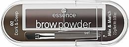 Парфюмерия и Козметика Комплект за вежди - Essence Eyebrow Stylist Set