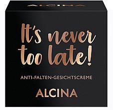 Парфюми, Парфюмерия, козметика Крем за лице против бръчки - Alcina It's Never Too Late Cream