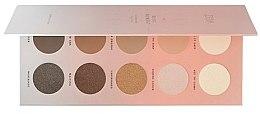Парфюмерия и Козметика Палитра сенки за очи - Zoeva Basic Moment Eyeshadow Palette