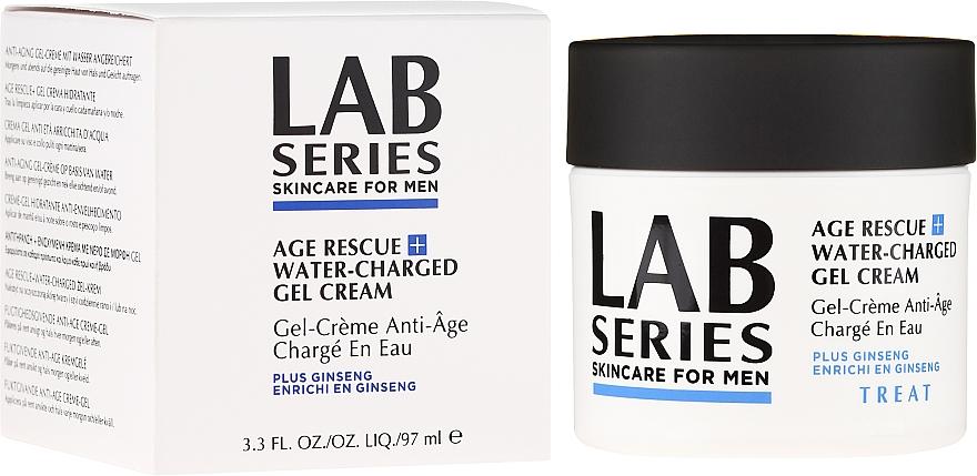 Овлажняващ гел-крем против бръчки - Lab Series Age Rescue + Water-Charged Gel Cream — снимка N1