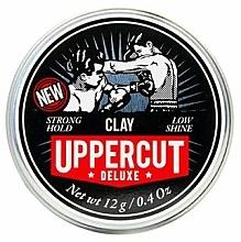 Парфюмерия и Козметика Матираща стилизираща глина за коса (мини) - Uppercut Matt Clay Mini
