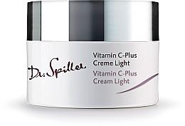 Парфюмерия и Козметика Дневен лек крем за лице с витамин C - Dr. Spiller Vitamin C-Plus Cream Light