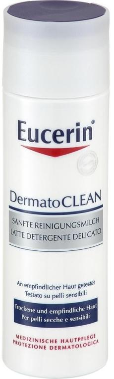 Почистващо мляко за лице - Eucerin DermatoClean Mild Cleansing Milk — снимка N1