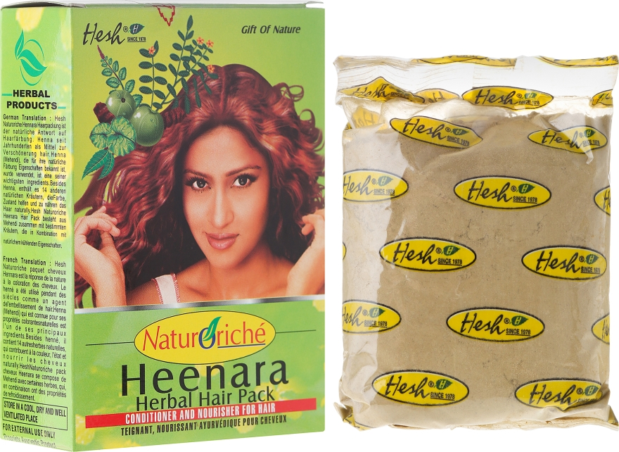 Къна за коса - Hesh Hennara Herbal Hair Pack