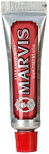 Парфюмерия и Козметика Паста за зъби - Marvis Cinnamon Mint (мини)