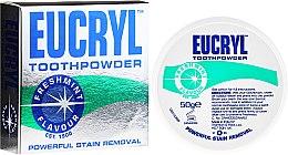 Парфюмерия и Козметика Прах за зъби - Eucryl Toothpowder Freshmint