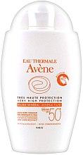 Парфюми, Парфюмерия, козметика Слънцезащитен минерален флуид без химически филтри - Avene Eau Thermale Mineral Fluid SPF 50+