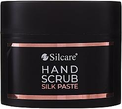 Парфюмерия и Козметика Пилинг-паста за ръце - Silcare Hand Scrub Silk Paste (мини)