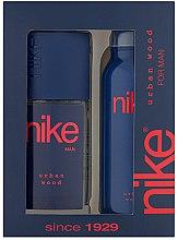 Парфюми, Парфюмерия, козметика Nike Men Urban Wood - Комплект (део/200ml + спрей за тяло/75ml)