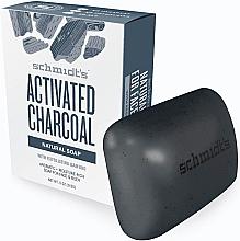 Парфюми, Парфюмерия, козметика Натурален сапун - Schmidt's Naturals Bar Soap Activated Charcoal