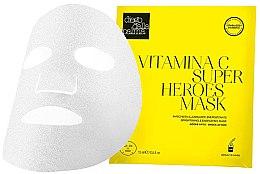 Парфюмерия и Козметика Изсветляваща маска за лице - Diego Dalla Palma Vitamina C Super Heroes Mask