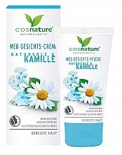 Парфюмерия и Козметика Крем за лице с лайка - Cosnature MED Face Cream Brine & Chamomille