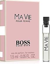 Парфюмерия и Козметика Hugo Boss Boss Ma Vie Pour Femme - Парфюмна Вода (мостра)