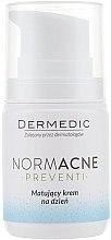 Парфюми, Парфюмерия, козметика Матиращ дневен крем за лице - Dermedic Normacne Mattiffying Day Cream