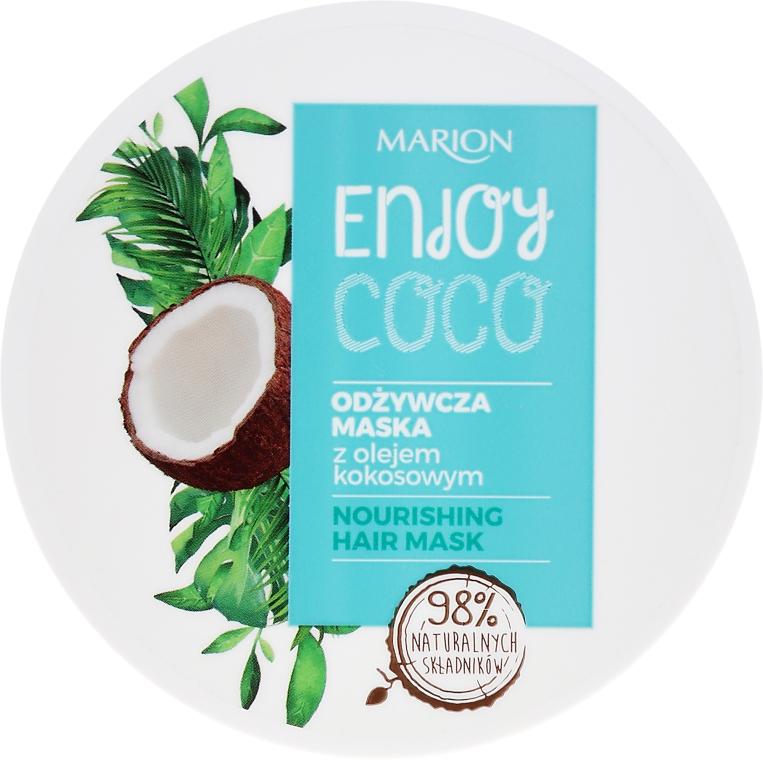 Маска за коса с кокосово масло - Marion Enjoy Coco Nourishing Hair Mask