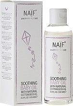 Парфюмерия и Козметика Детско успокояващо масло за тяло - Naif Baby Soothing Baby Massage Oil