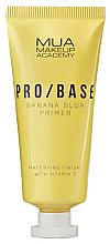 Парфюмерия и Козметика Матираща основа за лице с аромат на банан - Mua Pro/ Base Banana Blur Primer